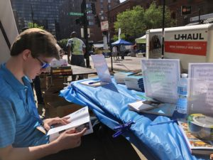 Scenes from the 2019 Printers Row Literature Fest. Photo courtesy Ray Hanania