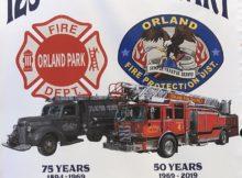 OFPD 125th Anniversary logo